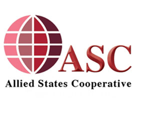 ASC Allied States Cooperative - co-op logo